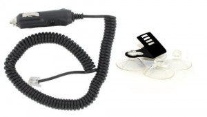 Windshield Mount/Coiled Power Cord Combo for Beltronics/Escort