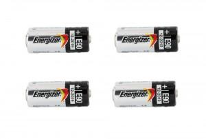 Energizer 1.5 Volt Alkaline E90 / LR1 Battery (N cell) - 4 Pack