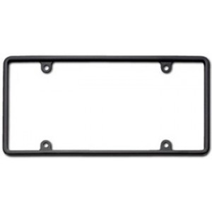Black Slim Rim License Plate Frame (Thin) - 21350