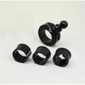 "Techmount Handlebar Mount (fits 7/8"" thru 1 1/4"" )"