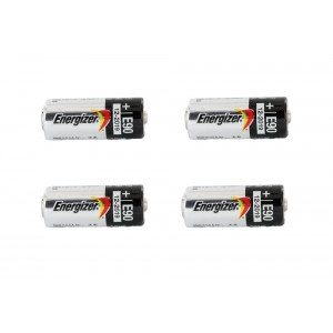 Energizer 1.5 Volt Alkaline E90 / LR1 Battery (N cell) - 4 Pack
