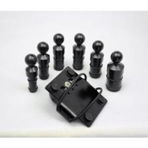Techmount Stem Mount Kit for Radar Detectors