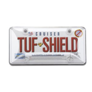 Clear TUF SHIELD Bubble Plate Cover - 73100