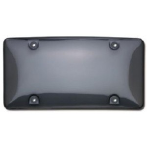 Smoke Tinted TUF SHIELD Bubble Plate Cover - 73200