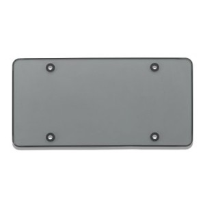 Smoke Tinted TUF SHIELD Flat Plate Cover - 76200