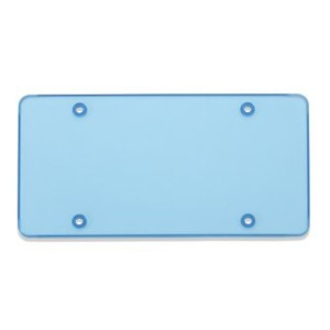 Blue Tinted TUF SHIELD Flat Plate Cover - 76400