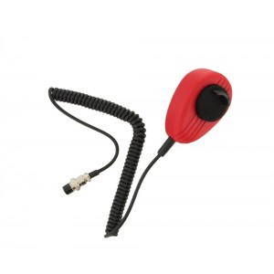 Driver's Product DP56 4 Pin Noise Canceling Microphone (Red)