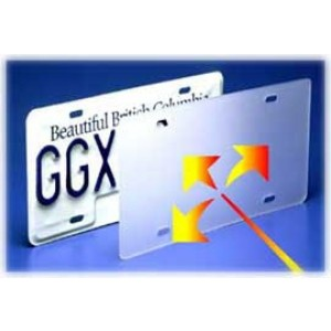 Laser Shield - Anti-Laser License Plate Cover
