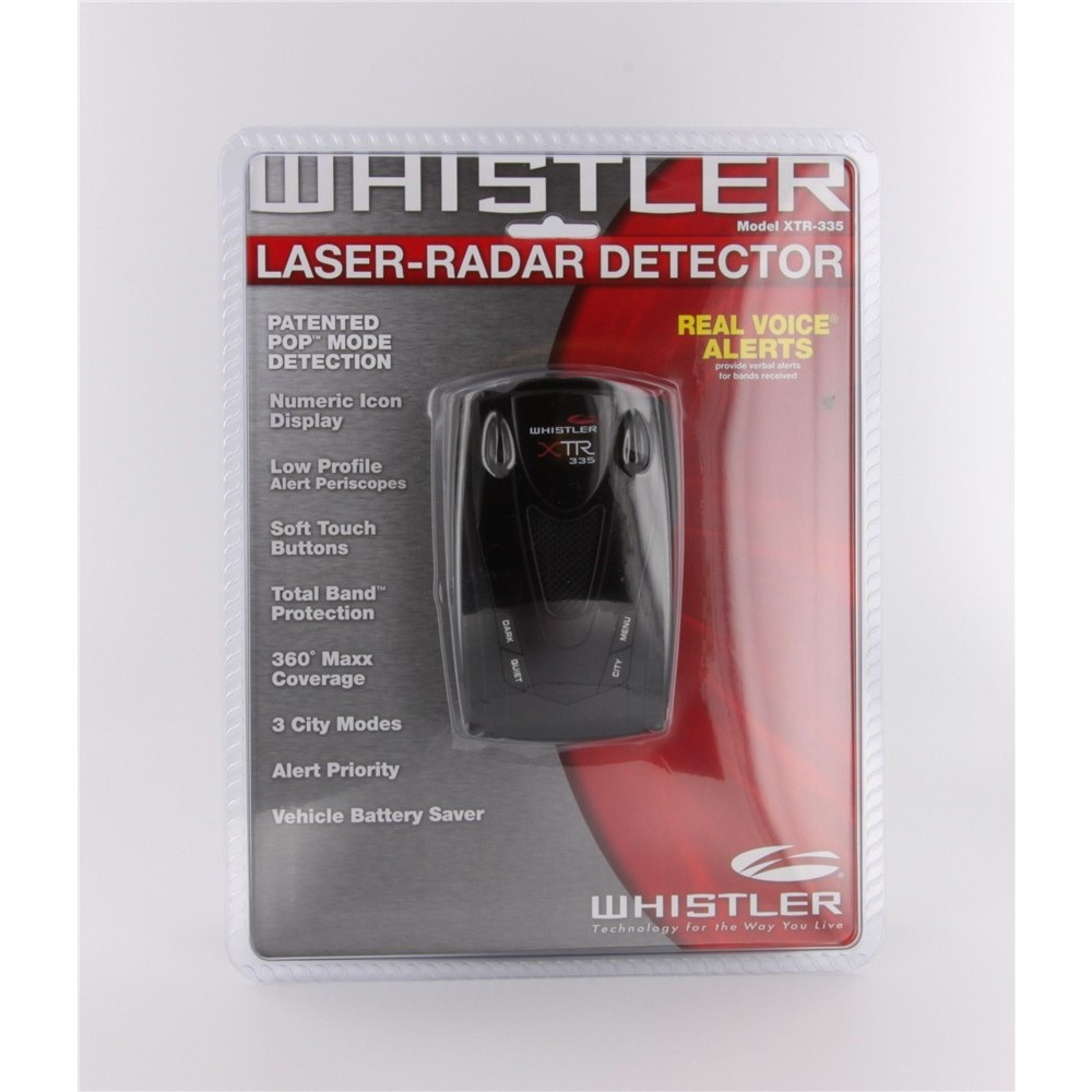 Whistler xtr-335 manuals.
