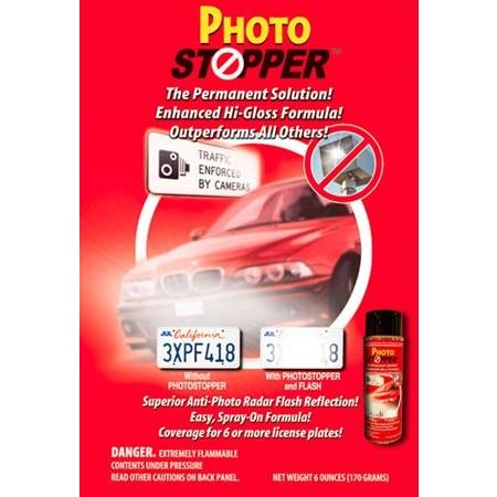 PhotoStopper - Permanent Anti-Flash Photo Radar Defense