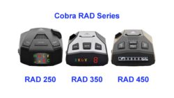 Cobra RAD Series Radar Detectors video
