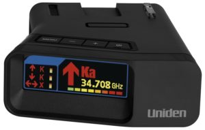 Uniden R7 Radar and Laser Detector