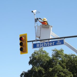 Red Light Camera Installation